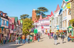 Shimla-The-Mall-Road