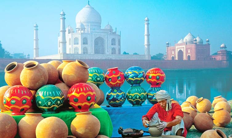 Festivals that can be experienced with the Golden Triangle Tour